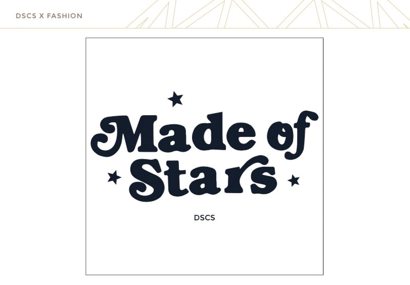 "T-Shirt ""Made of Stars"" I white"