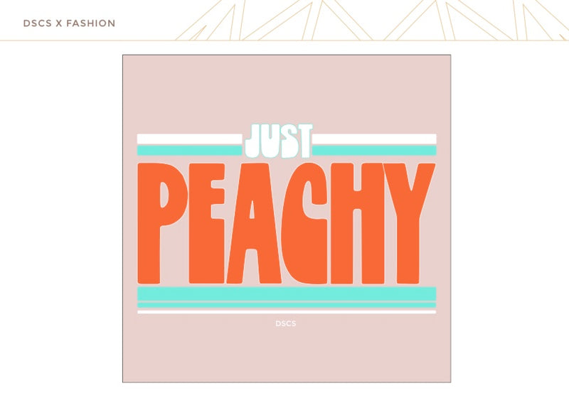 "T-Shirt ""Peachy"" I rosa"