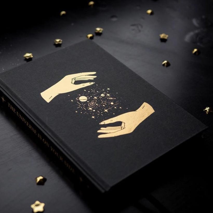 "Buch ""Dreamy Journal The Universe in your Hands"" l x Annie"