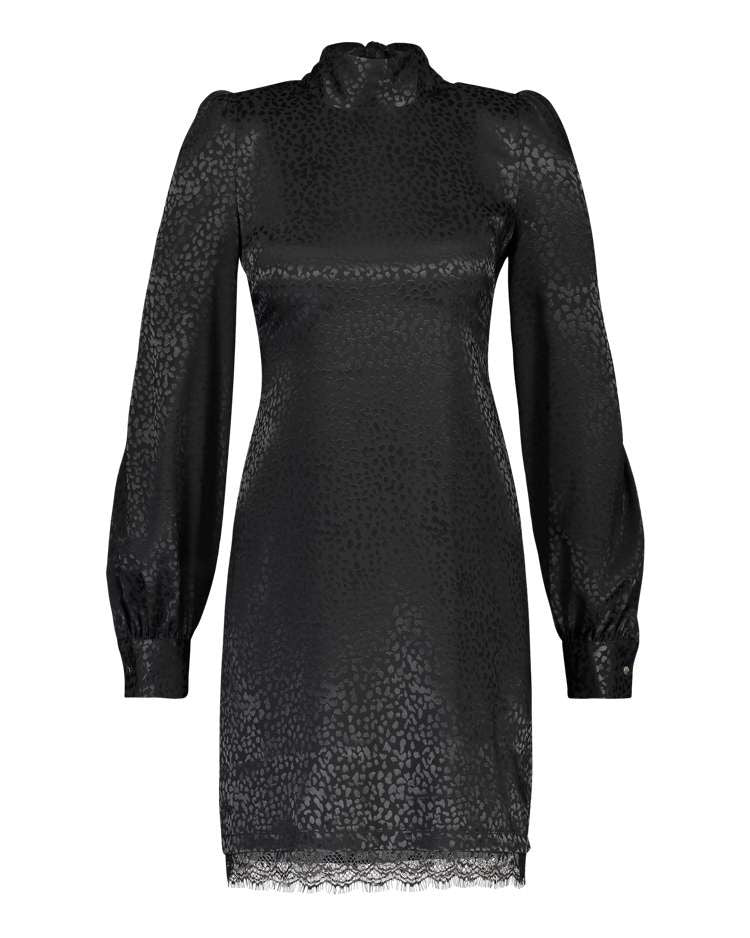 "Kleid ""Tracy"" I black leo"