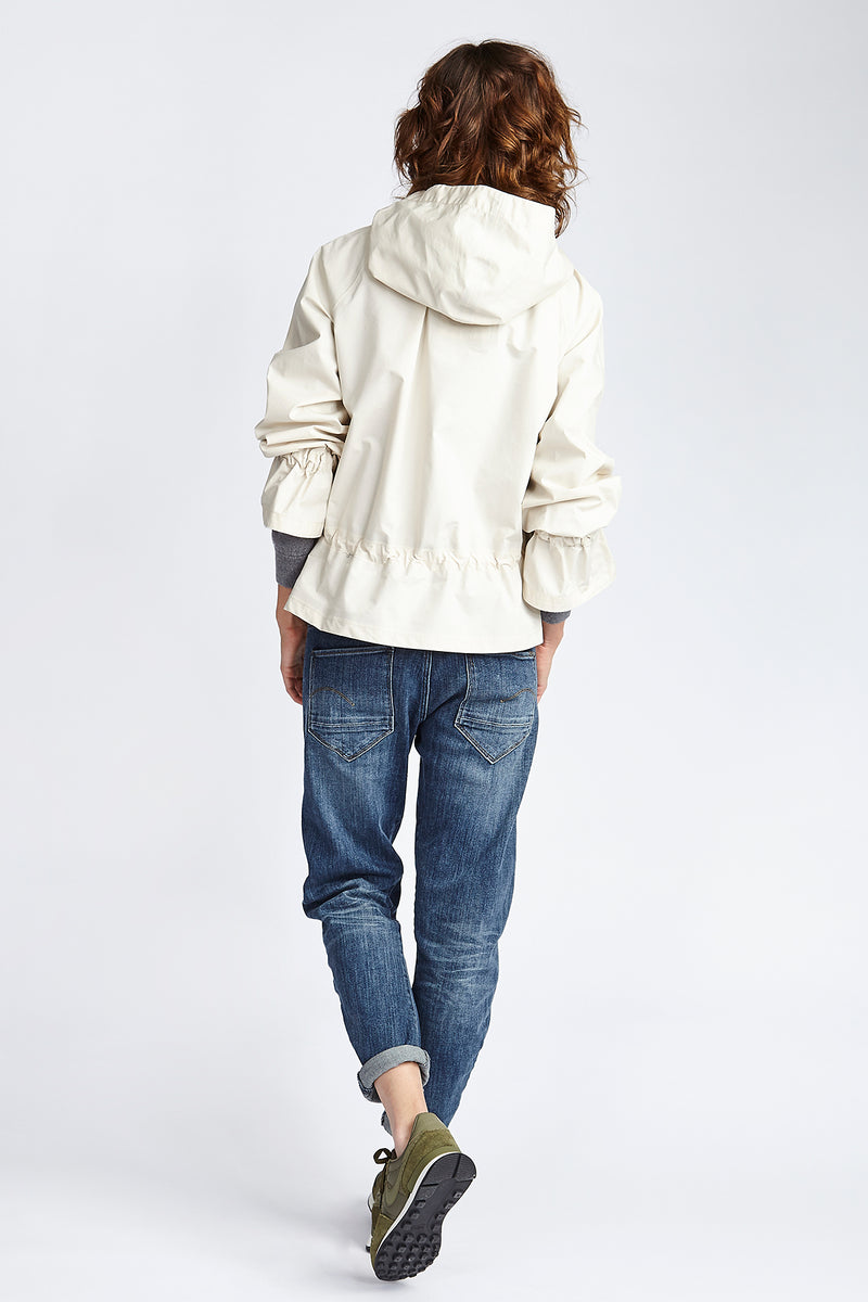 Parka Moody Short | light yellow