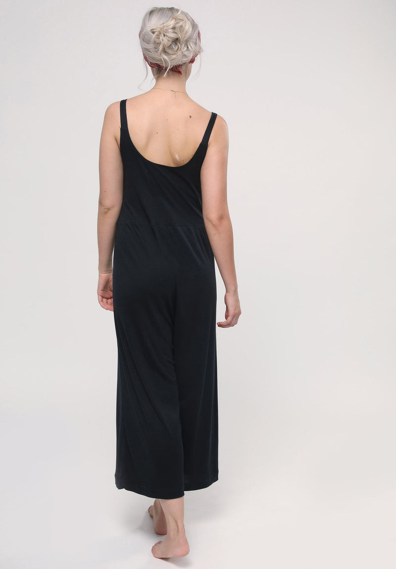 "Jumpsuit ""Vesuvian"" I black"
