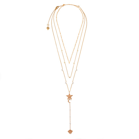 "Wild at Heart ""Astra Multi Drop"" I gold"