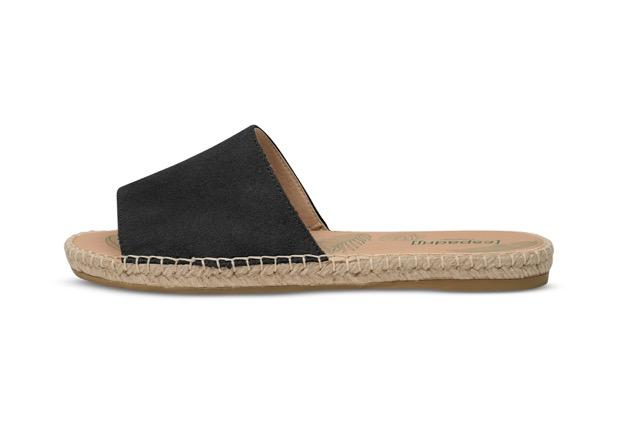 "Slipper ""Plage"" I black"
