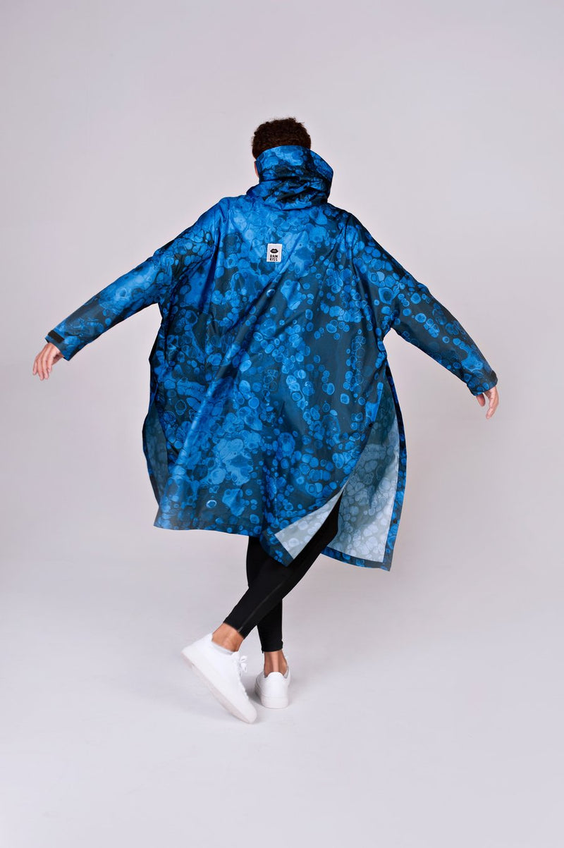 "Jacke ""Blue Bubbles"" I blue"