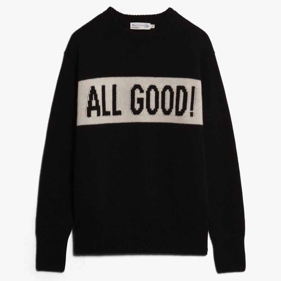 "Pullover ""All Good"" I black"