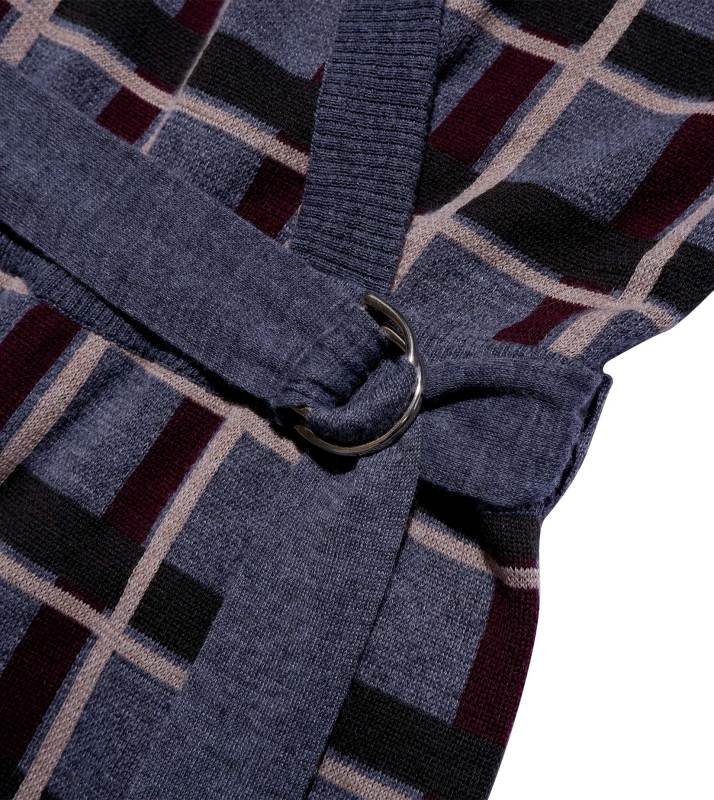"Homejumper ""Janet"" I grey check"