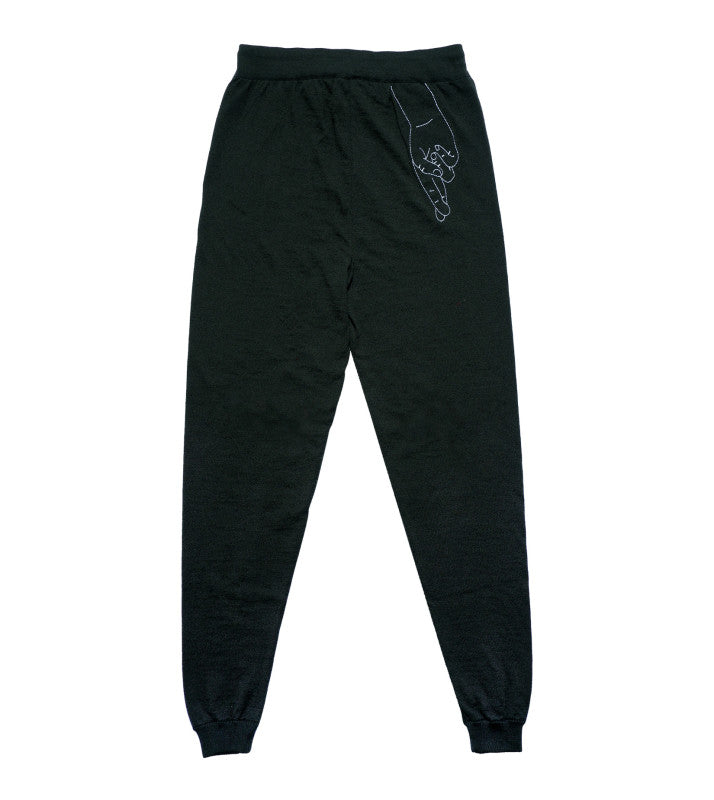 "Trainer Pants ""Kimmie"" I forest green"