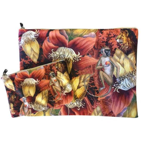 Make Up Bag I jungle monkey