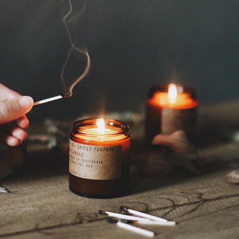 "Candle ""Campfire"""
