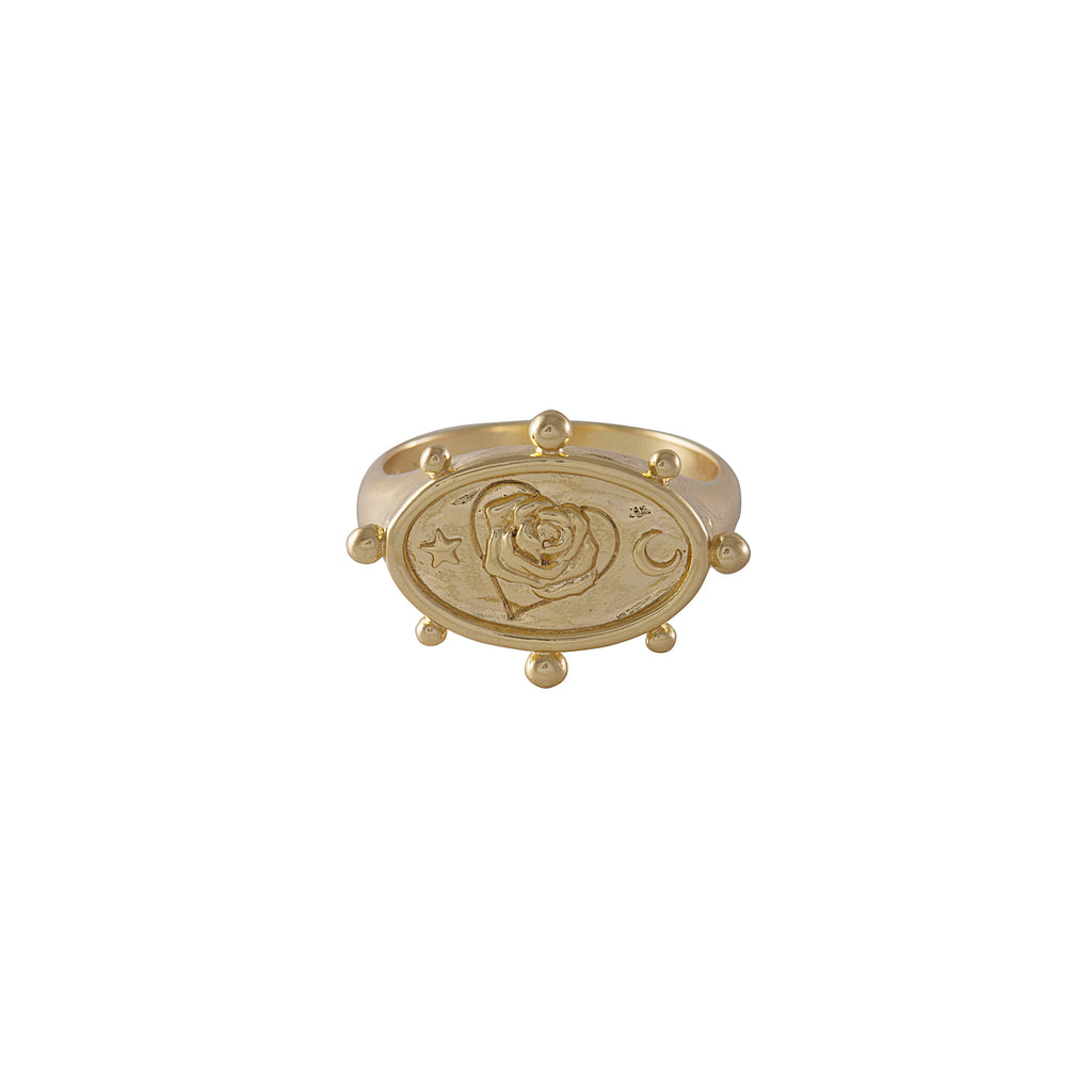 "Wild at Heart ""Rhea Signet Ring"" I gold"