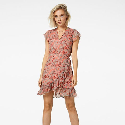 "Kleid ""Kailey"" I coral flower"