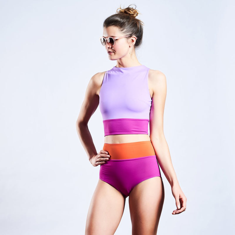 "Swimwear ""Surftop"" I shades of sundown"