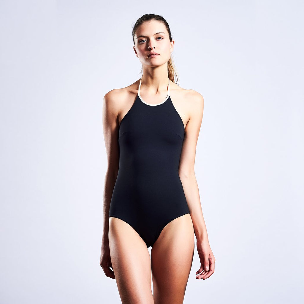 "Swimwear ""Gracebody"" I black-grey-white"
