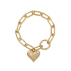 "Wild at Heart ""Aleya Multi Charms Halskette"" I gold"