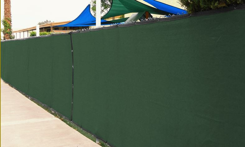 8ft high Fence Screen