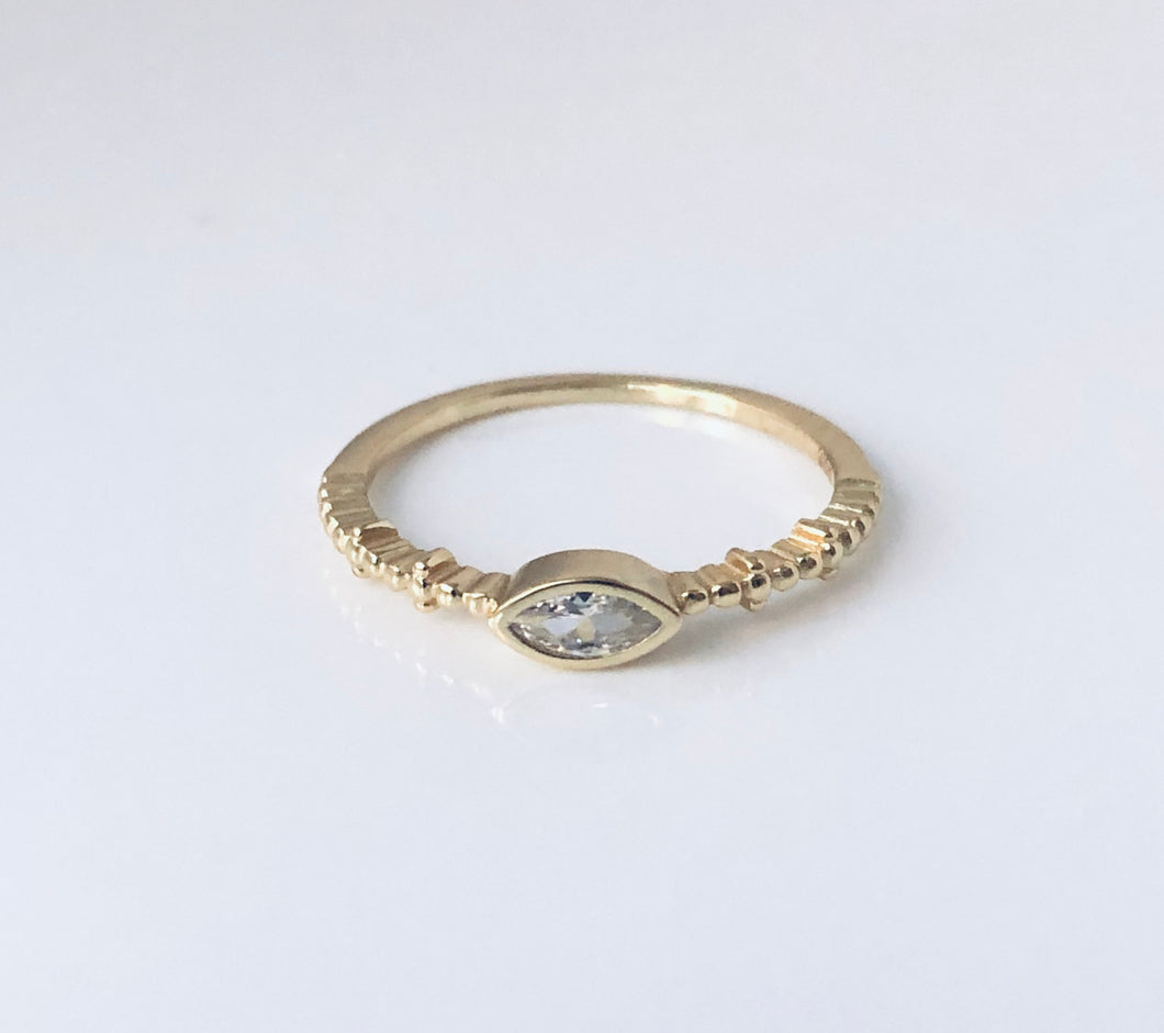 Cz Oval #2 ring