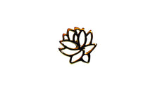 Load image into Gallery viewer, 925 Lotus Flower Post EA20006