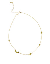 Load image into Gallery viewer, Moon star choker