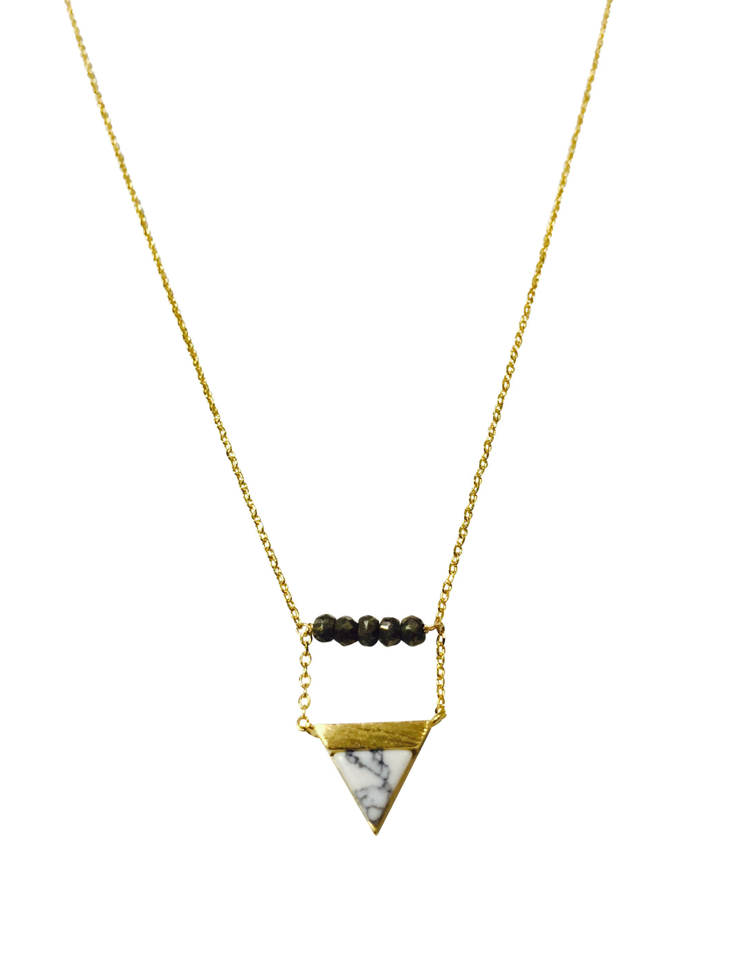 Marble triangle pyrite Nk