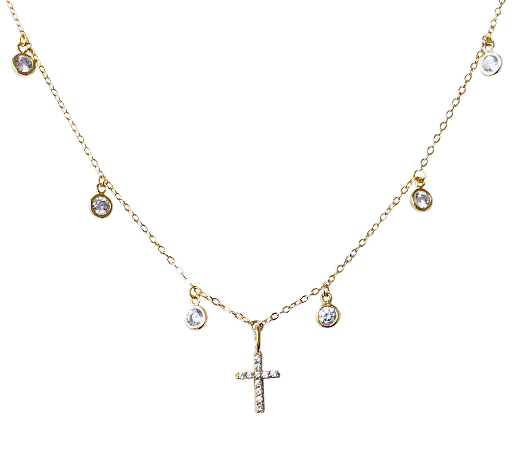 Cz dangle Cz cross nk