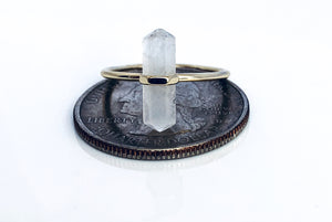 Reiki Quartz ring