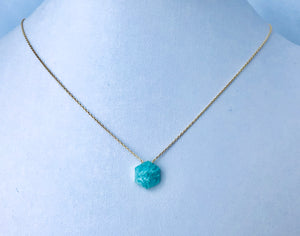 Amazonite Hexagon nk