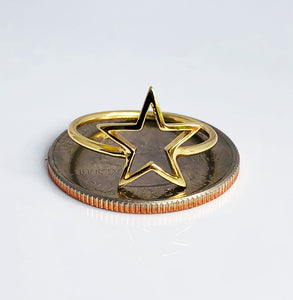 Star outline ring