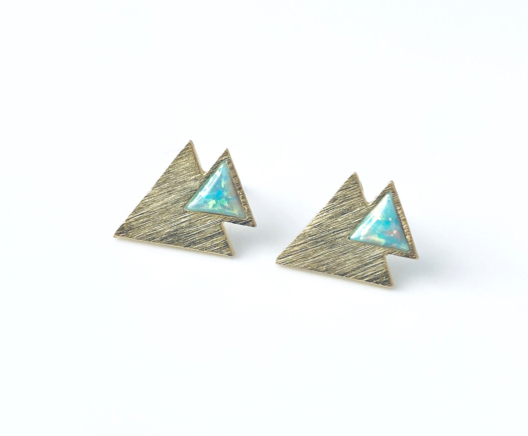 Mint Opal triangle EA20233