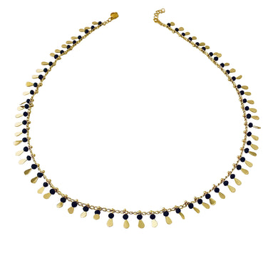 Black Beaded necklace NK20578