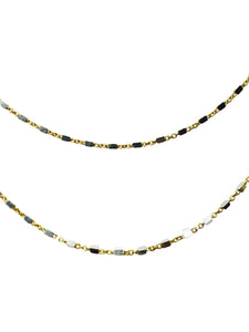 Gold Mix Chain 16""