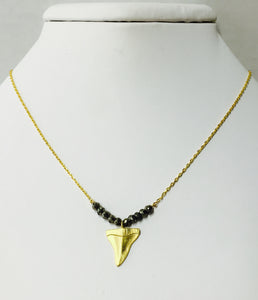 Shark Tooth Pyrite