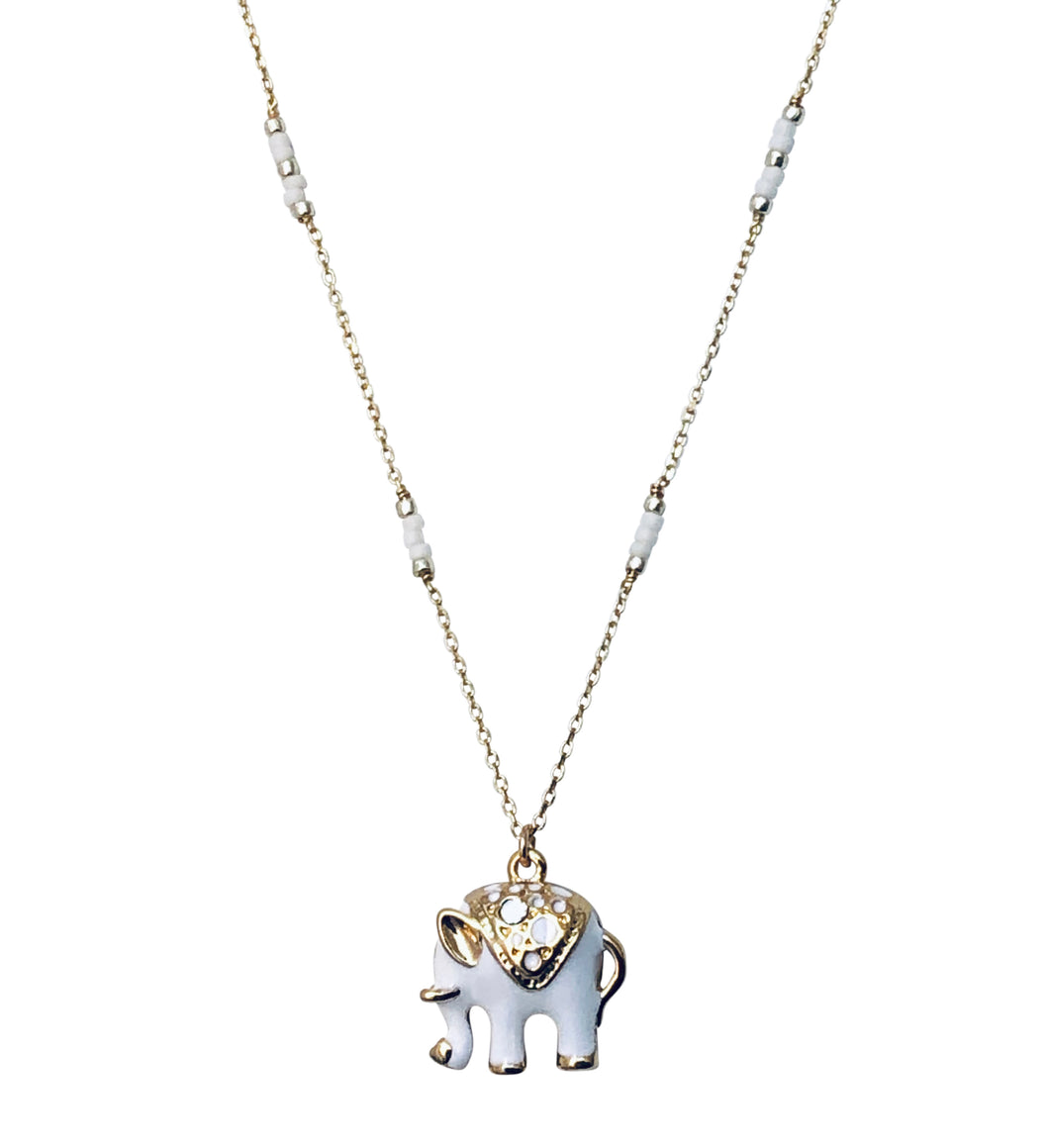 Goldfilled wt Elephant NK20163