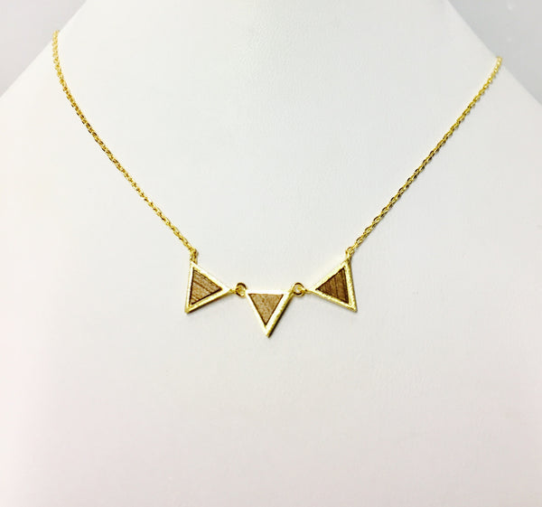 Wooden triangles Nk