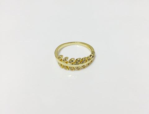 925 Cz branch ring