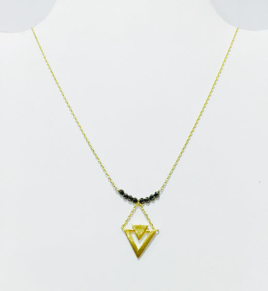 Pyrite Geo Triangle Nk