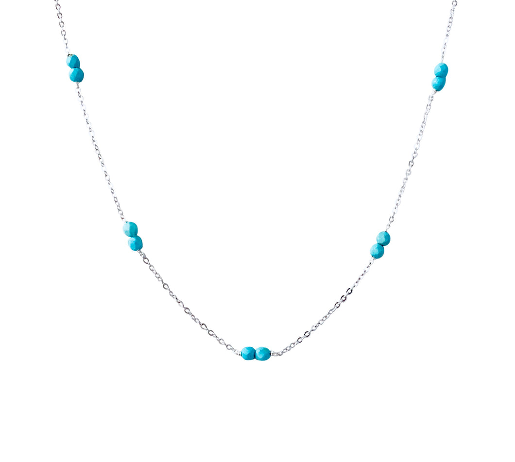 Everyother turquoise/silver nk
