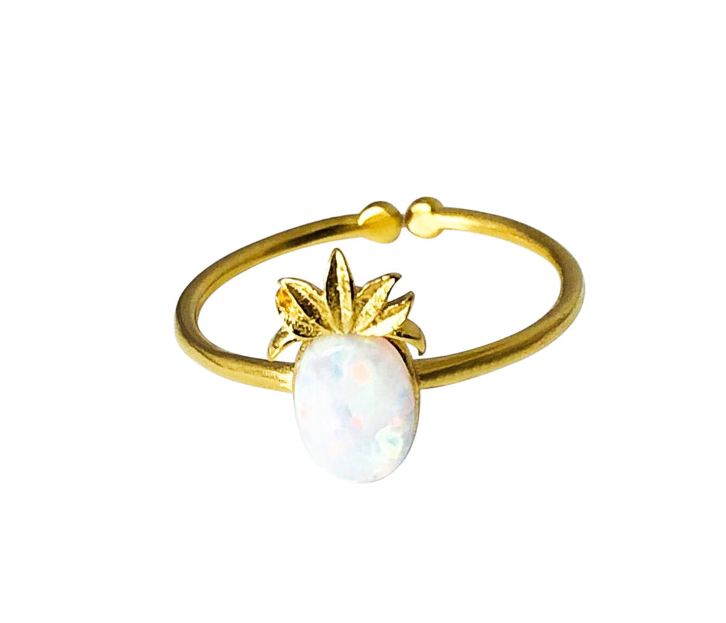 Opal pineapple ring
