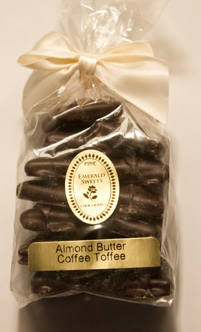 Almond Butter Coffee Toffee Dark Chocolate