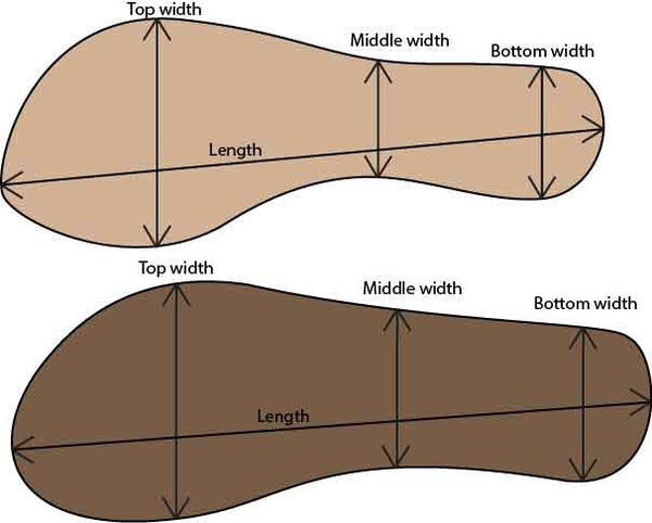Sandal Sizing Guide