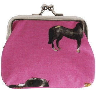 Pink Horse Coin Purse
