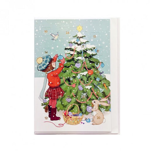 Belle & Boo Advent Card