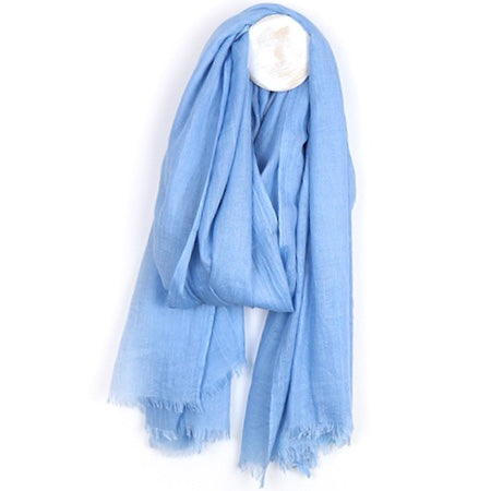 Baby Blue Scarf