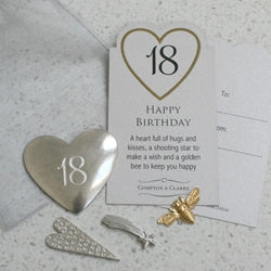 18th Birthday Pocket Charms