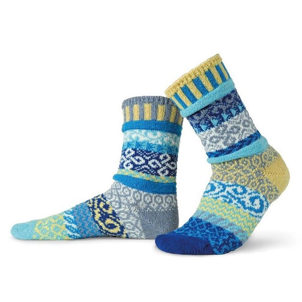 Air Mismatched Knitted Socks