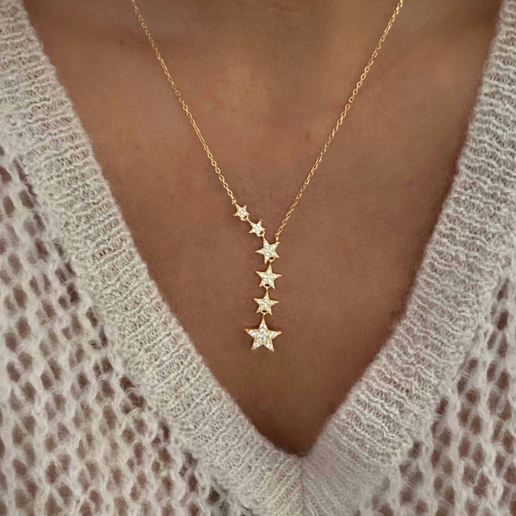 Little Lights Gold Necklace