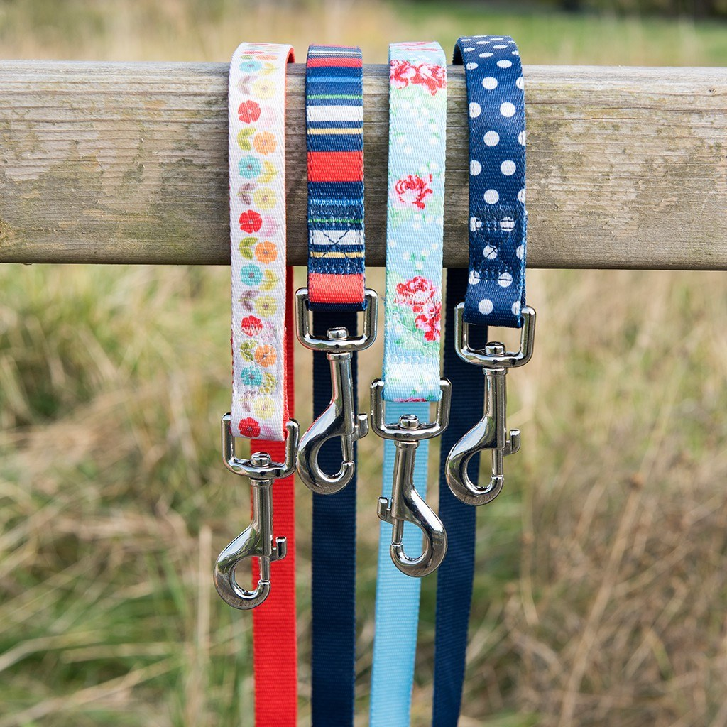 English Rose Dog Lead