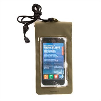 Green Waterproof Phone Bag