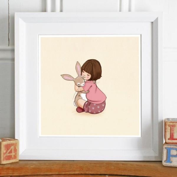 Belle & Boo Birthday Hugs Print