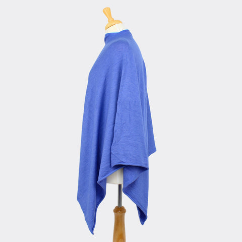 Blue Cornflower Tilley Poncho